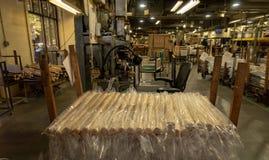 Le mazze da baseball del forte battitore di Louisville si dirigono fotografia stock libera da diritti