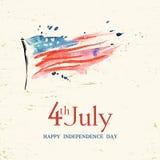 le 4ème juillet Photographie stock libre de droits