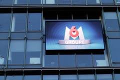 Le media M6 français groupe des Frances de Paris de Neuilly-sur-Seine de sièges sociaux Image libre de droits