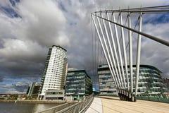 Le MediaCityUK à Manchester Angleterre. image libre de droits