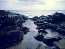 Le meilleur bord de la mer Photo stock