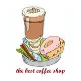 Le meilleur café Images libres de droits