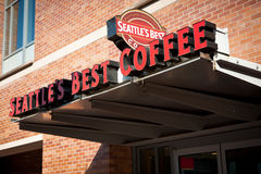 Le meilleur café-restaurant de Seattle Image stock