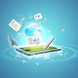 Commerce en ligne Image libre de droits
