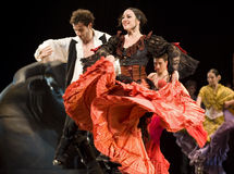 Le meilleur drame de danse de flamenco   Photo stock