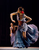 Le meilleur drame de danse de flamenco : Carmen Photo libre de droits