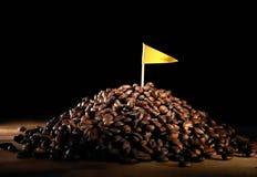 Le meilleur grain de café de qualité Photos libres de droits