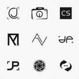 le meilleur logo d'icône a placé pour vos affaires Image libre de droits