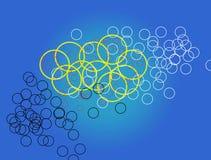 Le meilleur papier peint impressionnant circulaire illustration libre de droits