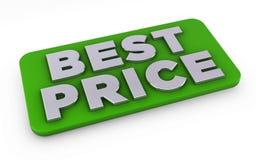 Le meilleur prix à payer Images libres de droits