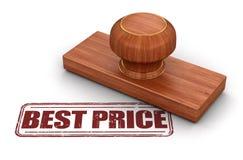 Le meilleur prix de timbre Image stock