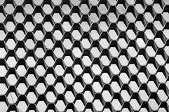 le meilleur repicate généré par ordinateur de configuration de nid d'abeilles sans joint Texture sans couture d'hexagones Photographie stock