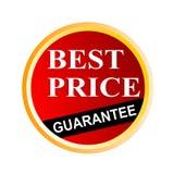Le meilleur sceau de garantie des prix Photo stock