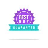 Le meilleur style de label de prix discount Photographie stock