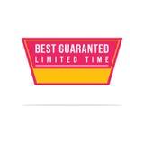 Le meilleur style de label de prix discount Photographie stock libre de droits