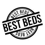 Le meilleur tampon en caoutchouc de lits Photographie stock