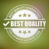 Le meilleur timbre de qualité, vecteur Illustration de Vecteur