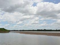 Le Mekong en Thaïlande image libre de droits