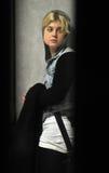 Le membre de la haute société Kelly Osbourne est vu à l'aéroport de LAX, C Photographie stock