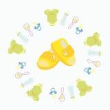 Le merci per i neonati illustrazione vettoriale