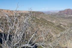 Le MESA del New Mexico da trascurano Immagine Stock Libera da Diritti