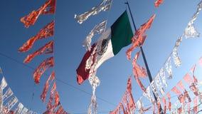 Le Mexique avec toutes les couleurs Image stock