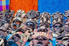 Le Mexique. Banc de souvenir. Photographie stock