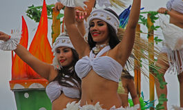 Le Mexique Carnaval Photographie stock