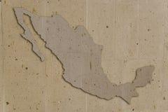 Le Mexique en pierre Photographie stock libre de droits