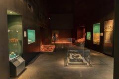 Le MEXIQUE, le 9 juin 2016 : Intérieur du musée de pyramides de Teotihuacan Photo stock