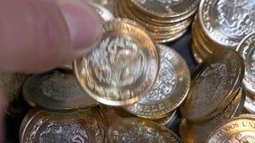 Le Mexique 20 pesos - perception d'argent clips vidéos