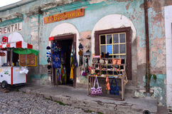 Le Mexique Real de Catorce Images stock