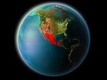 Le Mexique le soir Photographie stock
