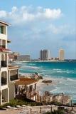 Le mi hiver dans Cancun Photo stock