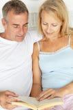 Le mi relevé de couples d'âge Image libre de droits