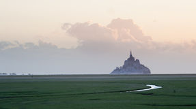 le Michel mont święty zdjęcia royalty free