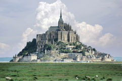 le Michel mont święty Obraz Royalty Free