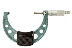 Le micromètre vert Photographie stock
