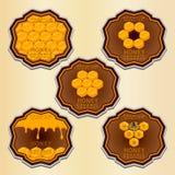 Le miel jaune Images stock