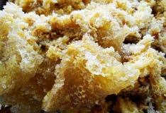 Le miel jaune Photos stock