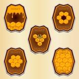 Le miel jaune Photographie stock libre de droits