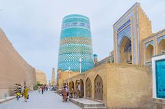 Le minaret image libre de droits