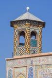 Le minaret de la mosquée de Vakil Photo libre de droits