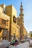 Le minaret en pierre Image libre de droits