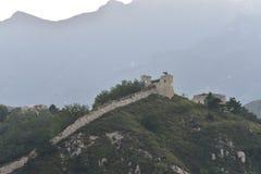Le Ming la Grande Muraille dans Laiyuan Photo stock