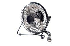 Le mini ventilateur noir Photos libres de droits