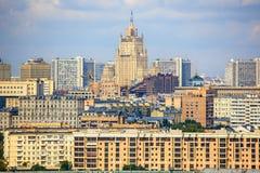 Le ministère des affaires étrangères de la Russie Photos libres de droits