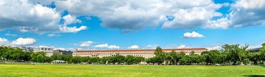 Le ministère du commerce des Etats-Unis à Washington, D C image libre de droits