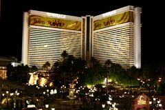 Le mirage - Las Vegas Image stock