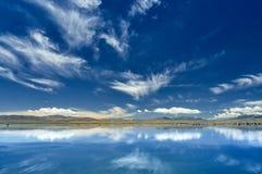 Le miroir du ciel Image stock